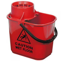 PROFESSION BUCKET & SIEVE Red 15 ltr