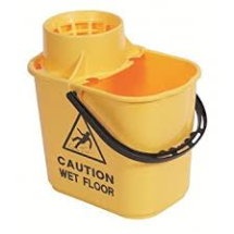 PROFESSION BUCKET & SIEVE Yellow 15 ltr