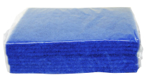 SCOURER PAD, Contract, large 6x9inch, 150x225mm, Blue,10 pack