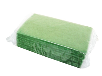 SCOURER PAD, Contract, large 6x9Inch, 150x225mm, Green,10 pack