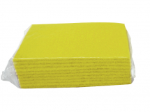 SCOURER PAD, Contract, large 6x9inch, 150x225mm,Yellow,10 pack