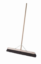 12inch BROOM Coco complete with 4' handle