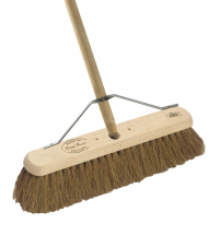18inch BROOM Coco complete with 5' handle and STYS2 stay