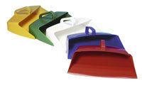 Closed Lightweight Dustpan - Red