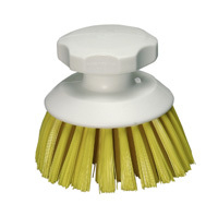 Hygiene Round Hand Scrubbing Brush - Yellow