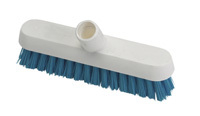 Hygiene Deck Scrub, 253mm - Red / Fits handles HP107 or HP106