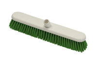 Hygiene Platform Broom Head, stiff 457mm - Blue / Fits handles HP107 or HP106