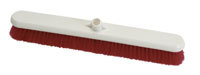 Hygiene Platform Broom Head, Soft 600mm - Red / Fits handles HP107 or HP106