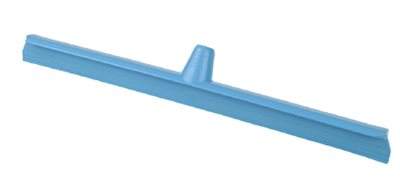 HYGIENE FLOOR SQUEEGEE, 60cm SINGLE BLADE OVERMOULDED, Blue