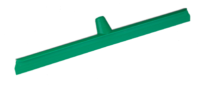 HYGIENE FLOOR SQUEEGEE, 60cm SINGLE BLADE OVERMOULDED,Green