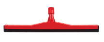 PLASTIC FLOOR SQUEEG 45cm Red
