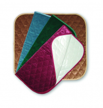 Velour Chairpad, 53x58cm Green