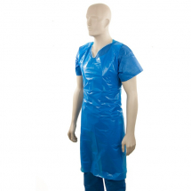 HIGH QUALITY DISPOSABLE BLUE APRONS - 20MU, 1000 PER BOX