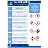 Jangro COSHH Good Practice & Guide to CLP (2 Copies)  A3