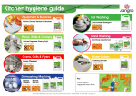 Jangro Kitchen Hygiene Plan Wallchart